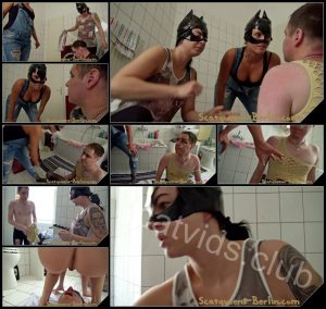 [Scatqueens-Berlin com – Scat-Ladies com] The Shit Mask P1 [Scat, Piss, Vomit, Spitting, Facesitting, Whipping, Trampling, Femdom, Humiliation, Toilet Slavery]