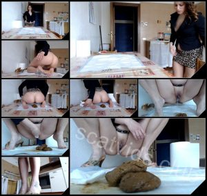 [YezzClips com] Moana Voglia In The Kitchen Servant Scat And Perfumed Feet [2017, Scat, Piss, Foot Fetish]