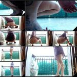 [YezzClips com] Moana Voglia Shit And Fart In The Balcony 1 [2017, Scat, Piss, Foot Fetish]