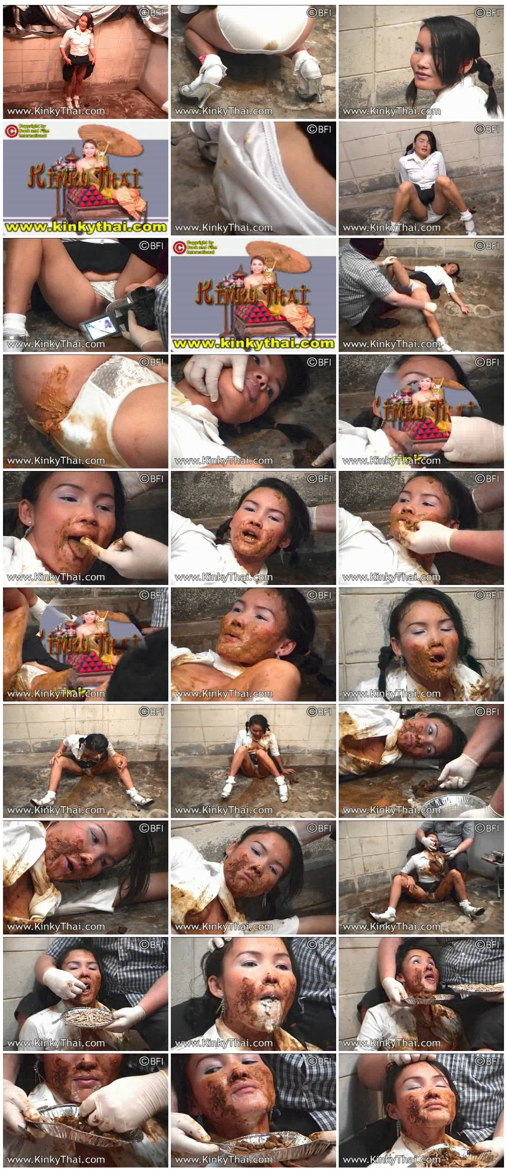 [Sweetmook.com] Asian girls are eating dog shit Kinky Thai - A Rainy Dogshit Day [Scat, Piss, Zoo]