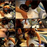 [ScatShop com – Amarotic com] Eating shit out of a dog bowl [2017, Scat, Piss, Toilet Slavery, Femdom, Lesbian]
