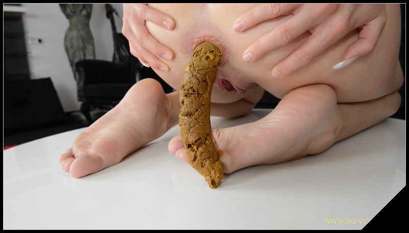 SG Video.com Scat Dildo Melania Biggest Scat Ever Scat Femdom Lesbian Human Toilet Fetish cover - [SG-Video com] Scat Dildo Melania - Biggest Scat Ever [Scat, Femdom, Lesbian, Human Toilet, Fetish]
