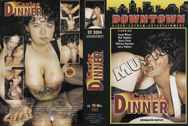 Kaviar Dinner [Nr3004 - DBM Videovertrieb - Downtown] [Scat, Pissing, Bizarre, BJ, Facial, Threesome, Hardcore, All Sex]