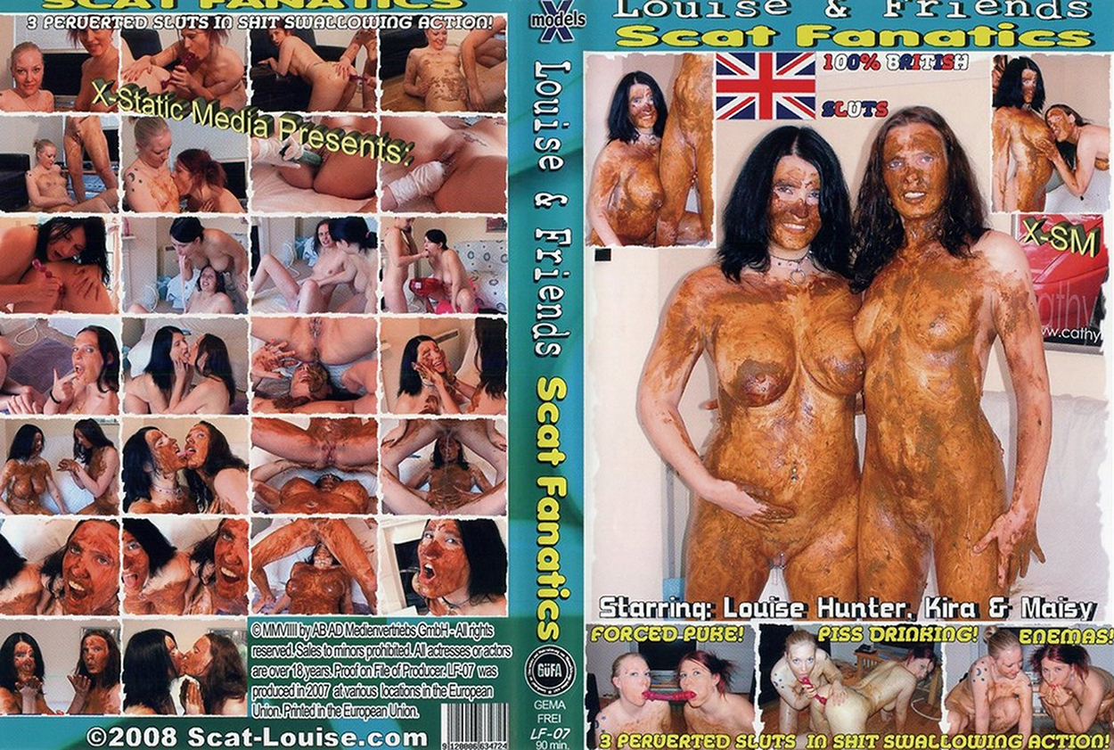 [Louise and Friends] Scat Fanatics [X-Models] [Scat, Pissing, Enema, Vomit, Lesbian, Teen, Mature, Sex Toys, Fisting]