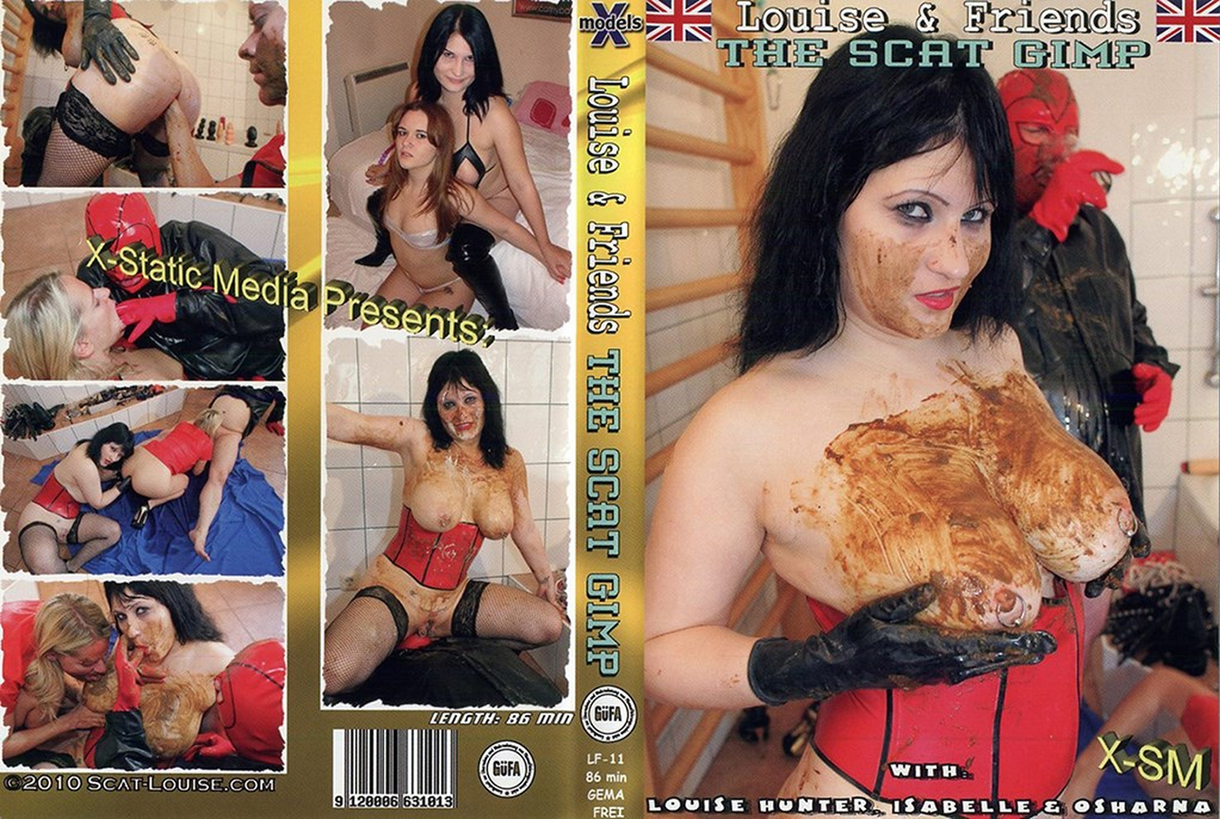 [Louise and Friends] The Scat Gimp [X-Models] [Scat, Pissing, Enema, Vomit, Lesbian, Teen, Mature, Sex Toys, Fisting]