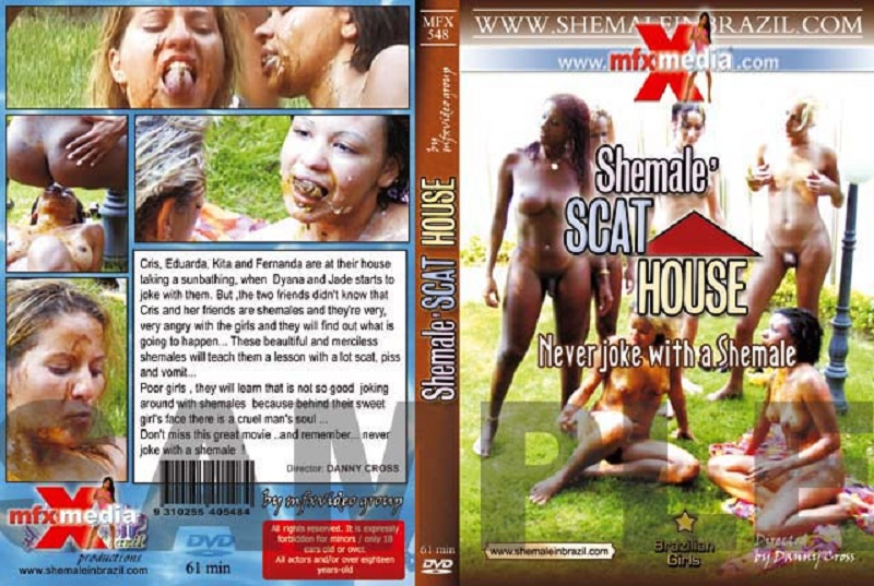 MFX - 548 - Shemale Scat House [Danny Cross, Vanessa Rock, MFX Media] [shemale, scat, piss, vomit, gangbang]