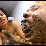 [SG-Video com] Real Swallow My Enormous Scat 3 – By Evil Girl Baby Conhak [ Scat, Femdom, Lesbian]