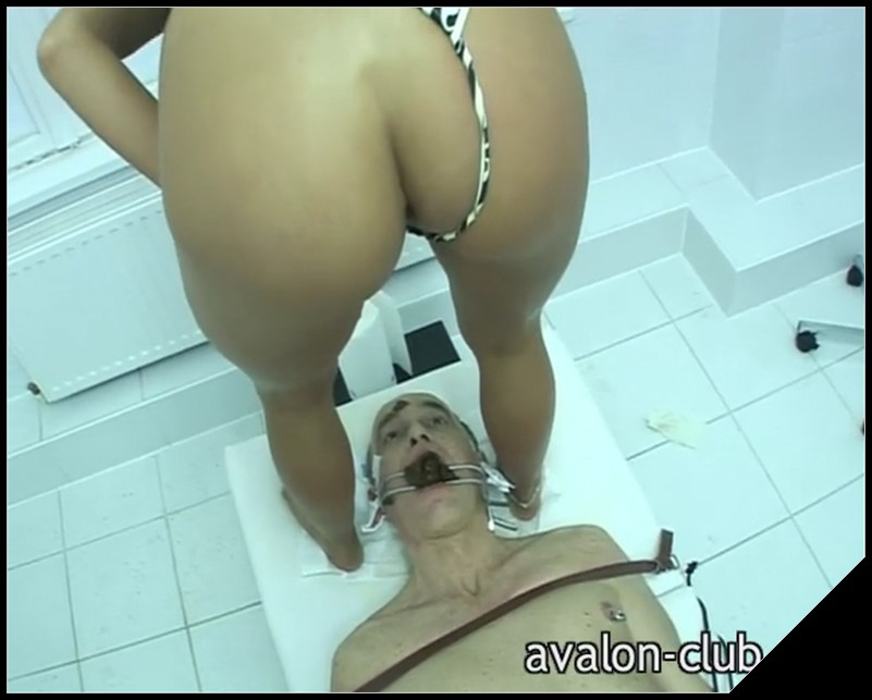 [Avalon-Club.de] Lady Kate - The Dentist Teil 2 [ Scat, Piss, Spitting, Femdom, Latex, Toilet Slavery, Smoking, Fisting]