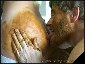 [DirtyTimo com]part 14  [ Scat, Piss, Vomit, Human Toilet, Shit Eating, Mature]