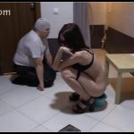 Eat girls shit to the last piece - MilanaSmelly [Lesbian, Toilet Slavery, Farting]