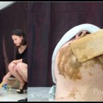 [Poo19 com – ScatShop com] MilanaSmelly -Rapid swallowing of female shit without chewing  [ Scat, Piss, Diarrhea, Domination, Smearing, Eat shit]
