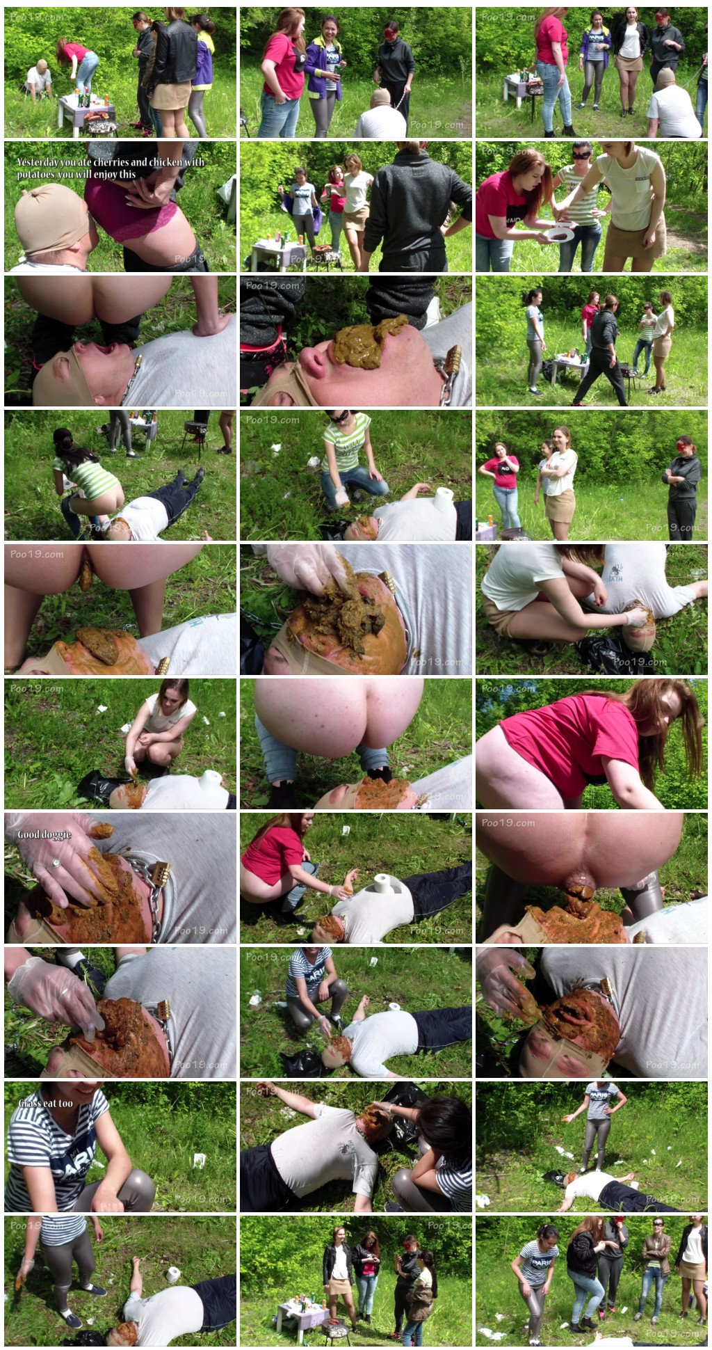 [Poo19.com - ScatShop.com] SmellyMilana-Married man toilet at the hen party  [ Scat, Human Toilet, Humiliation, Toilet Slavery]