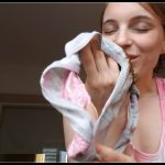 Pussyplay and Pantyspoop - LittleMissKinky [Scat, Smearing, Panty-Jean Pooping]