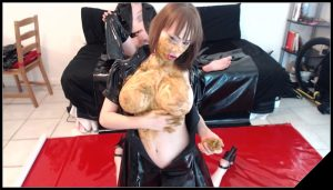 [ScatShop com] A Hot Scat Fuck – Facial 11 [Scat, PVC, Latex]