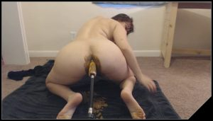 POV doggystyle – Fucked up shit filled Asshole – LindzyPoopgirl[New Dirty Big Ass]