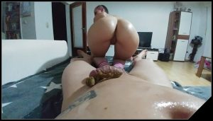 Fucked hard and hosed- KV-GIRL  [dirty anal, new scat sex, anal sex, shitting girls]