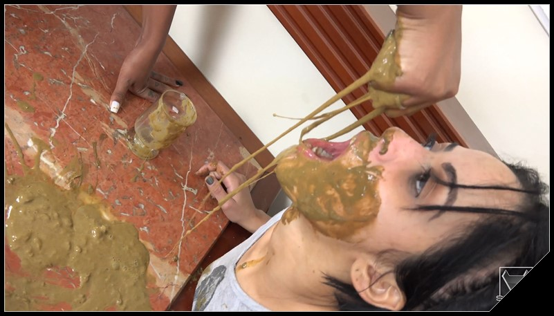 Extreme Scat And Pee Swallow By Isabella Blu And Bianca [SG-Video, Lesbian]