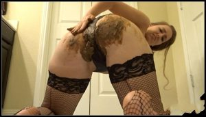 [GoddessRyan] Panty Shit, Pussy Smear and Scat Fucking Orgasm