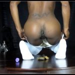 Mystress T - Butthole Play In Sexy White Stockings
