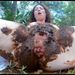 Outdoor Shit Packed Pussy - ScatGoddess 1 PART [Poop Videos, Smearing]