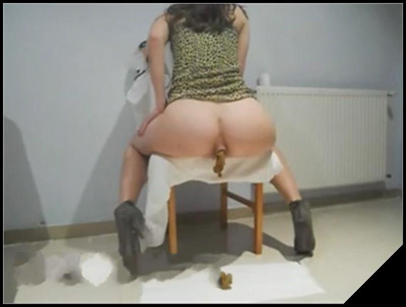 Elena shit on the floor while sitting on a chair Pooping pissing girls and scat porn videos. PooPeeGirls cover - Elena shit on the floor while sitting on a chair - Pooping, pissing girls and scat porn videos  PooPeeGirls
