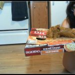 Lindzypoopgirl – Huge Poop After Eating Too Much Pizza
