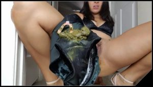 Littlefuckslut – You ll Regret Locking Me Out [Scat, shit, defecation, pissing, smearing, masturbation, shitty ass, panty pooping]
