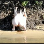 Nata Pooping 04 [Scat solo, shit, defecation]
