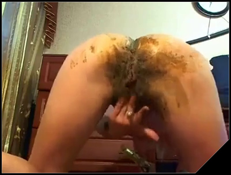 Beautiful Arse Very Lickable Scat solo shit defecation Smearing Dildo masturbation cover - Beautiful Arse Very Lickable -[Scat solo, shit, defecation, Smearing, ,Dildo masturbation]