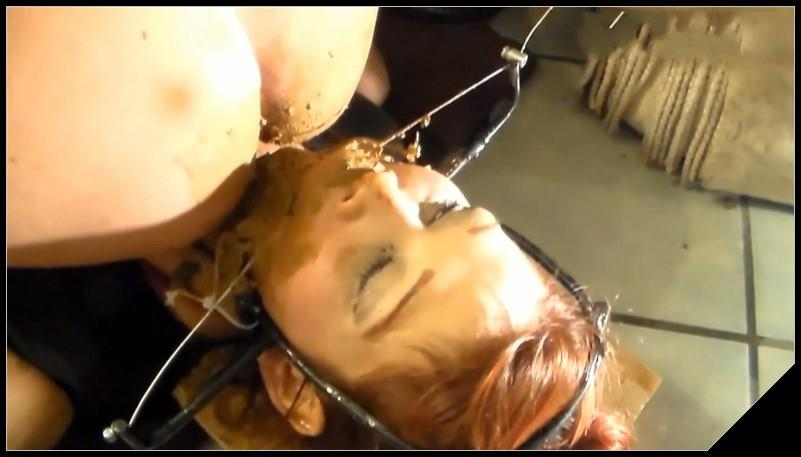 First Time Ever- Girl as Slave-Dom-Princess [Scat Lesbians, shit, defecation, pissing, Smearing, Facesitting, Domination,Eat shit]