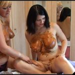 Louise Hunter - A Lesson for Lena [Scat Lesbians, shit, defecation, pissing, Smearing,  Enema, Lick ass, Fisting, Domination, Eat shit, Drink pee, Masturbation, Rimming, Dildo Masturbation]