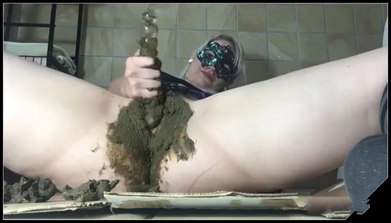 Shitting and ass stuffing Scat solo shit defecation Big Shit Dirty Ass Smearing Dildo masturbation cover - Shitting and ass stuffing - [Scat solo, shit, defecation, Big Shit, Dirty Ass, Smearing , Dildo masturbation]