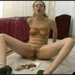 MFX-587-1 – Jackie's Intimacy [Scat solo, shit, Dirty anal, Masturbation, Panty pooping,  Smearing, Piss]