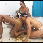[NewScatInBrazil] – MF-8073 – Jaqueline, Babi Ventura, Tay – Scat Popcorn [Scat Lesbians, shit, defecation, pissing, Smearing,Lick ass, Facesitting, Domination, Eat shit, Masturbation , Humiliations, Groups-Couples]