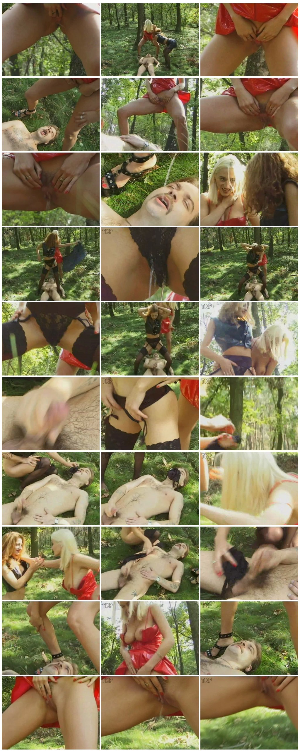 Two Girls Piss A Man In The Wood Scat pissing Femdom Toilet Slavery HandjobDrink pee thumb - Two Girls Piss A Man In The Wood [Scat, pissing,Toilet Slavery, Handjob, Drink pee]