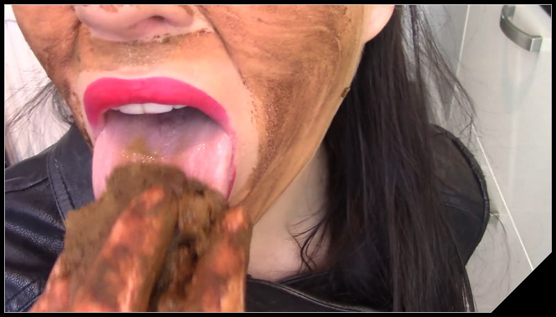 EvaMarie88 Smearing My Leather With Shit Scat solo shit defecation Masturbation Big Shit Smearing Pissing cover - EvaMarie88 - Smearing My Leather With Shit [Scat solo, shit,  Masturbation,  Smearing, Pissing]