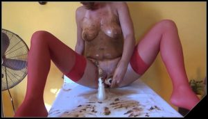 DirtyScatGirl – Potty [Scat solo, shit, defecation, Pissing, Big Shit, Dirty Ass, Masturbation, Dildo masturbation,Smearing,shit in mouth,Fisting, Eat shit, Drink pee]