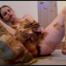 Massive Panty Poop with Toys and Spankings  2 [Scat solo, shit, defecation, Masturbation, Panty pooping, Smearing, Pissing, Fisting, Dildo masturbation,Fingering]