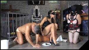 Mistress Gaia -Sharing my special meal [Scat, pissing, shit, defecation, Femdom ,Face shit,Domination, Eat shit , Humiliations]