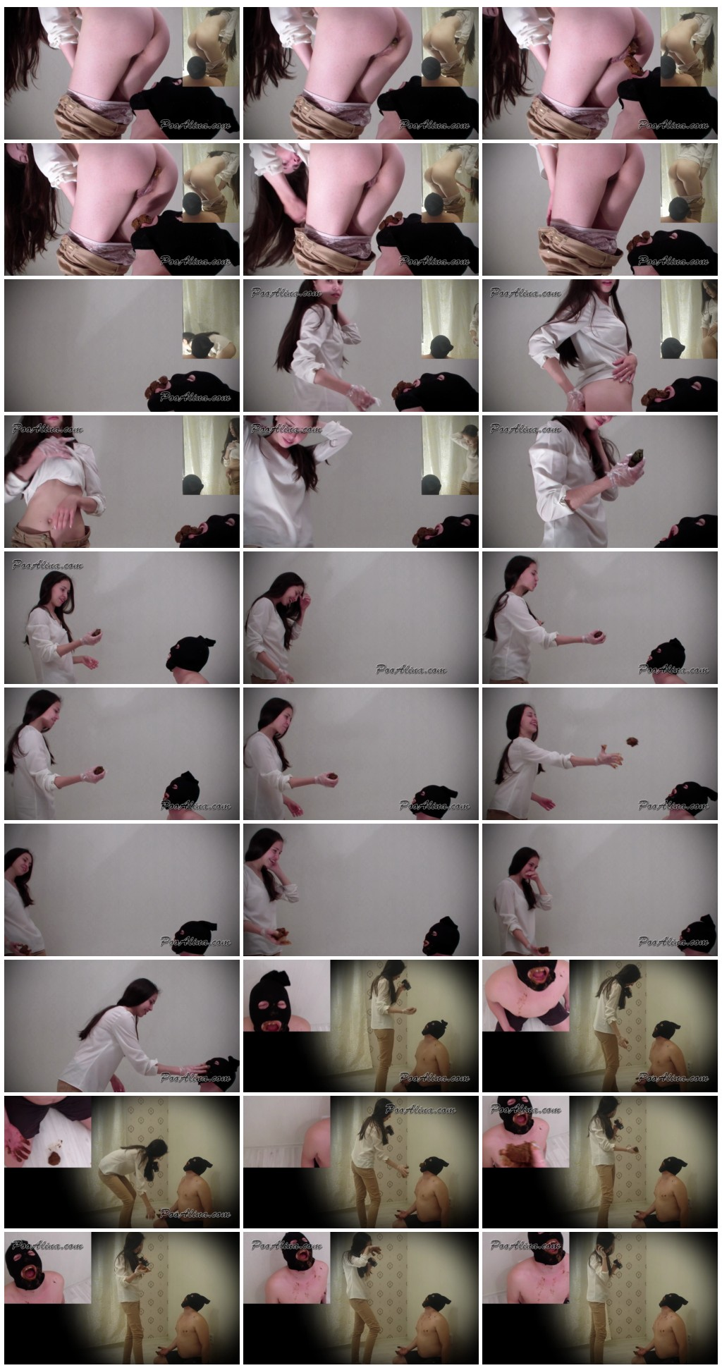 Alina pooping in mouth of a toilet slave Scat shit defecation Femdom Toilet SlaveryFace shit Domination Eat shit  thumb - Alina pooping in mouth of a toilet slave [Scat,  shit,  Femdom ,Toilet Slavery, Domination, Eat shit ]