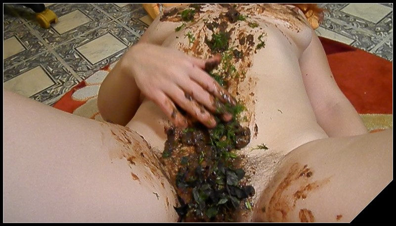 Dirty Barbara Eat Me Scat solo shit defecation Masturbation Big ShitDirty Ass Smearing cover - Dirty Barbara - Eat Me [Scat solo, shit, defecation, Masturbation, Smearing]