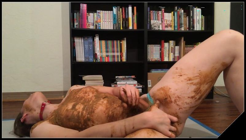 Messy Upside Down Panty Poop 2 Scat solo shit defecation Masturbation Panty pooping Big ShitDirty Ass Smearing Fingering cover - Messy Upside-Down Panty Poop 2 [Scat solo, shit, defecation, Masturbation, Panty pooping, Smearing, Fingering]