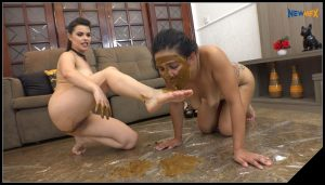 NewScatInBrazil.com – Lesbian Shit Abuse [Scat Lesbians, shit, spitting, pissing, Masturbation,Smearing,Licking,Domination, Eat shit , Humiliations]