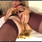 Some Rope and a Squishy Panty Poop [Scat solo, shit, defecation, Masturbation, Panty pooping, Big Shit,Dirty Ass, Smearing, Fingering]