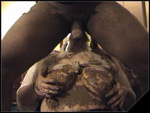 SHITTY JERKING OFF [Scat sex, shit sex, Dirty Anal, shit,  Toilet Slavery, shit in mouth,Smearing,Blowjob, Handjob, Pissing,Drink pee,Licking]