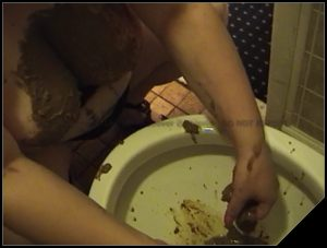 TOILET FISHING [Scat , shit,  Smearing,  Shit Eating]