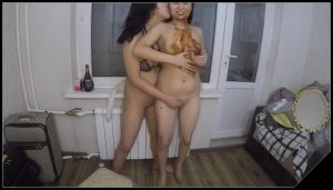 Asiansteppe – Ass to mouth Lesbian scat show [Scat Lesbians,  shit, defecation,Toilet Slavery,  Eat shit ,Big Shit,Dirty Ass,pissing, Drink pee,Licking,Eat shit, Smearing]