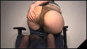Epic Pantypooping Farting Girl [Scat solo, shit, defecation, Masturbation, Panty pooping, Big Shit,Dirty Ass, Smearing, Pissing]