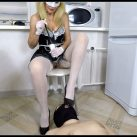 Horny Maid Shit On [Scat,   shit, defecation, Femdom ,Toilet Slavery, Domination,shit eating , Humiliations,Licking]