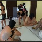 Lady Domi Miss Jane -Lady Chantal - Dirty vomit and shit session [Scat, pissing, shit, defecation, Femdom ,Toilet Slavery,   Dirty Ass,Fingering,Domination,shit eating , Humiliations,Licking, piss drinking,spitting]